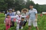 샘표 유기농 콩농장 허수아비 만들기 행사 개최