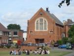 런던 사립학교 교정
