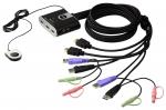 ATEN, 새로운 2포트 USB HDMI 케이블 KVM 스위치 출시