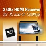 아나로그디바이스, 업계 최초 3 GHz HDMI 리시버 발표