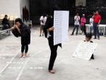 워크숍 진행하는 홍콩창의성학교 학생들