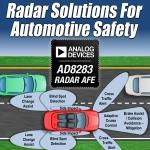 아나로그디바이스, 운전자의 안전한 주행을 위한 고성능 차량용 레이더 AFE IC 발표