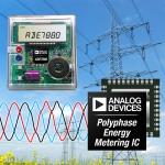 아나로그디바이스, 고급 전력 품질 모니터링에 필요한 뛰어난 정확도의 고조파 분석 기능을 제공하는 에너지 미터링 IC 출시