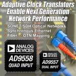 아나로그디바이스, 광범위한 유선 통신 애플리케이션 지원하는 멀티서비스 라인 카드 적응형 클럭 변환기 출시