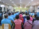 가을온천나들이 기념식에 어르신 120여명, 도봉모범운전자회 회원 60여명이 참여하였다.