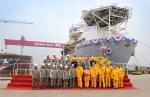 지난 5월 첫 드릴십을 성공적으로 인도했던 STX조선해양이 최근 두 번째 드릴십의 진수를 성공적으로 완료했다.