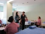 외국임심사관의 아로마테라피실기시험 심사