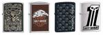 지포(Zippo)가 로열 할리 데이비슨 (Royal Harley-Davidson®) 라이터 컬렉션을 출시했다. (왼쪽부터) 28229 - 50,000원, 28265 - 48,000