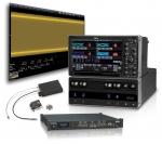 LabMaster 10Zi 오실로스코프와 10GBase-KR 자동 컴플라이언스 테스트, OE695G 컨버터, 그리고 SierraNet M408 프로토콜 분석기.