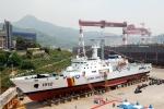 STX조선해양이 건조한 1,500톤급 고속경비함