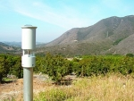 FireALERT wildfire detection system deployed in Fallbrook, California