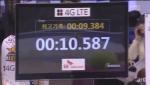 비솔, 2012~2013 프로농구 올스타전 '스피드슛' 콘테스트 1000분의 1초 기록계측