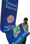 전자플래카드 제품사진