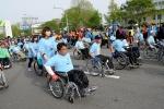 지난 해 서울국제휠체어마라톤대회에서 열렸던 어울림대회의 모습.