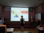 무료특강본부가 대한장애인체육회 성희롱예방교육을 진행하고 있다.