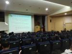 '장애인복지실천 인권, 회계교육' 진행 모습