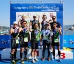 한국허벌라이프가 2013 통영 ITU 트라이애슬론 월드컵을 공식 후원한다.