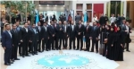 MoI delegation group photo at the Interpol meeting in Lyon, France
