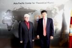 타키바예브 소장과 김승환 소장이 제18차 국제이사회에 참석했다.
