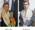 The Taekwondo Hall of Fame recently named Professor Kook Hyun Jung and GM Dong Keun Park as Korea's