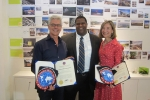Architects of 'TAEKWONDOWON' Michael Manfredi and Marion Weiss Receive Special Recognition from the