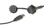 한국몰렉스가 혹독한 외부 환경과 운송 애플리케이션에서도 우수한 신호 무결성을 구현하는 IP67 등급의 방수형 산업용 USB 3.0을 출시했다.