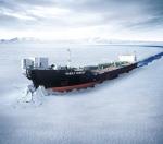 삼성중공업이 2007년 건조한 세계 최초의 양방향 쇄빙유조선 바실리 딘코프 호