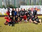 FC 하비 사회복무축구단은 제1회 다문화월드컵 축구대회에서 우승했다.
