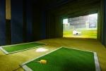 스크린 야구 전문점 리얼야구존 게임룸 모습