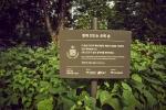K-POP Group EXO Baekhyun Forest at Neulbut park, Gangnam-gu in Seoul city.