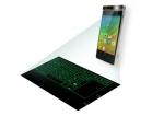 스마트 캐스트 컨셉트 스마트폰, 프로젝터와 가상 키보드를 결합
