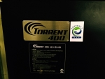 Torrent 400 has obtained ECO MARK