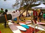 파타고니아가 양양 죽도 해변에서 서핑 용품 중고 장터(Surf Swap)를 개최한다