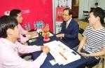 건국대가 국내외 70개 기업을 초청해 2015 KU 잡페어(KU JOB FAIR) 취업박람회를 개최했다