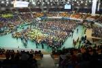 2015년 전국지체장애인체육대회가 열린 창원종합운동장을 가득 메운 1만여 명의 선수들