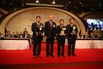 동원산업이 20일(화) 오전 9시, 서울 서대문구 그랜드힐튼 호텔에서 개최된 '2015 한국의 경영대상' 시상식에서 고객만족경영부문 종합대상을 수상했다