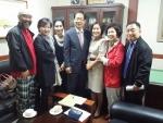 오제세 의원이 한국아동청소년그룹홈협의회 초청간단회에 참석했다