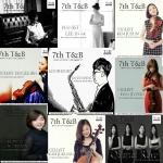 2015 T&B 국제아티스트콩쿠르 1등 수상자들의 음반 7th T&B가 14일부터 순차적으로 발매된다.
