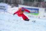 전국 스키 기술선수권 대회에서 여자부 우승은 스파이더 소속의 민애린 선수가 차지했다