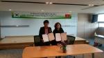 왼쪽부터 린탄코리아 김기덕 대표, 베트남린탄그룹 마담화 회장