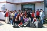 호원대 시각디자인학과 학생들이 재능기부 활동을 펼쳤다