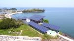한화그룹과 충청남도, 충남창조경제혁신센터가 힘을 합해 충청남도 홍성군 죽도를 친환경 에너지 자립섬으로 탈바꿈시켰다