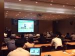 NCH코리아는 제19회 환경정책설명회 및 최신기술 발표회에서 NCH 오폐수 사업부의 한태환 컨설턴트가 친환경 미생물을 이용한 악취 개선 기술을 발표했다