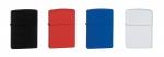 지포 매트 라이터 (검정색, 빨강색, 파랑색, 흰색)