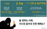 지나친 음주가 자살사망과 중독사망의 위험도를 높이는 것으로 나타났다