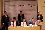 한국전력이 박근혜 대통령의 제11차 아시아-유럽 정상회의 참석 후 몽골 공식방문 기간 중 경제사절단으로 참여했다
