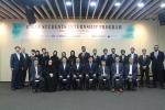 한전, 전력그룹사 UAE 대학생 인턴십 수료식 (앞열 좌측 네 번째부터) 모하메드 알 하마디 (Mohamed Al Hammadi) ENEC CEO 정동희 산업통상자원부 원전산업정책