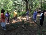 집단만다라, 힐링 차크라에서는 힐리언스 선마을 종자산 숲에서 나무, 흙, 돌 등을 활용해 집단만다라를 실시, 몸과 마음을 스스로 치유하는 법을 배울 계획이다