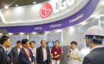 고양시 킨텍스에서 진행된 스마트시티 이노베이션 서밋 아시아 2016 내 LG유플러스 전시관
