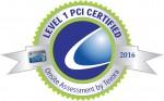 씨디네트웍스가 취득한 PCI DSS 레벨 1 인증 마크